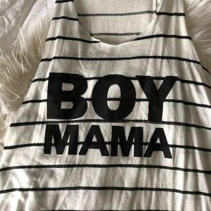Boy mama tank